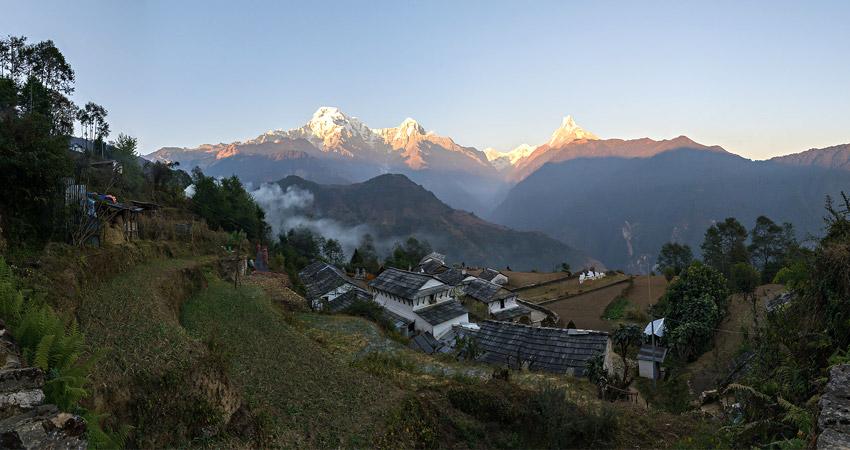 Pokhara to Ghandruk trekking