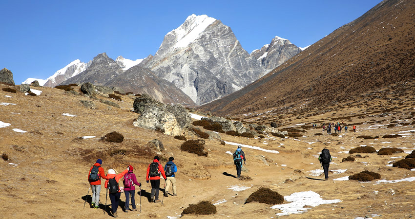 Nepal walking holidays tour