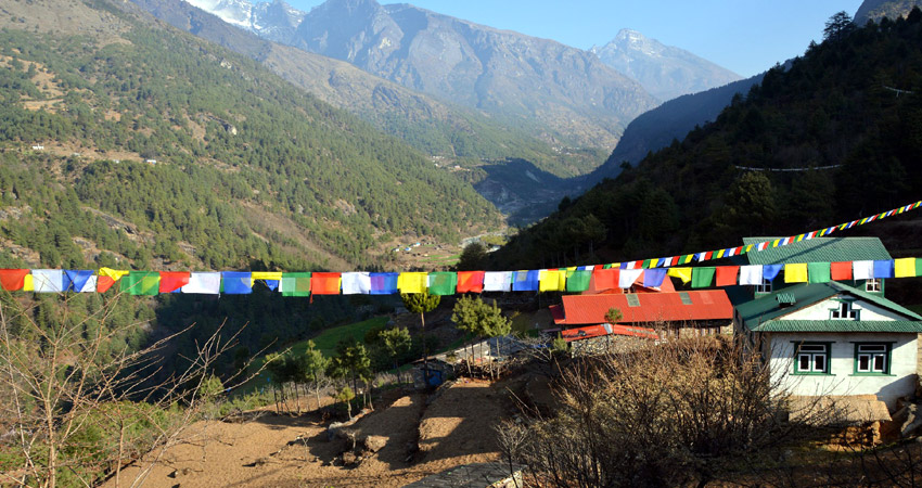 Easy trek in Nepal