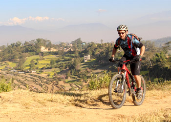 Nepal mountain biking