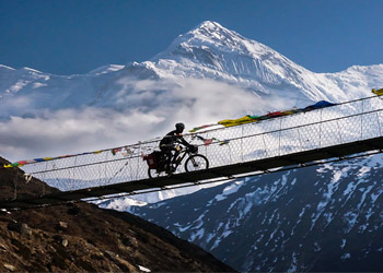 Annapurna circuit mountain bike
