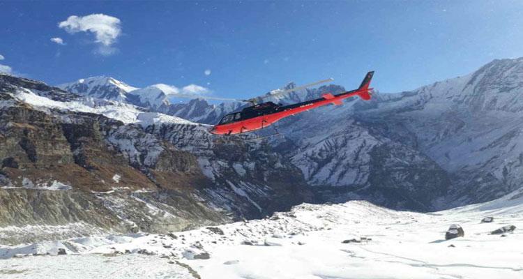Heli trek Annapurna