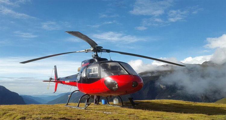 Langtang helicopter trek