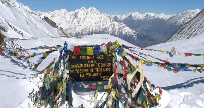 Thorong La Pass-Trek to the most beautiful pass of Annapurna.