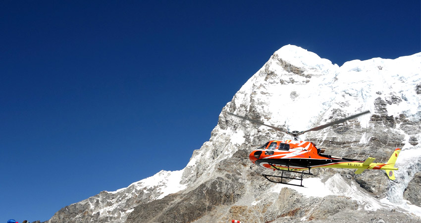 Mount Everest Helicopter Tour from Kathmandu