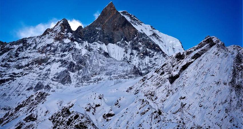 annapurna base camp trek in winter