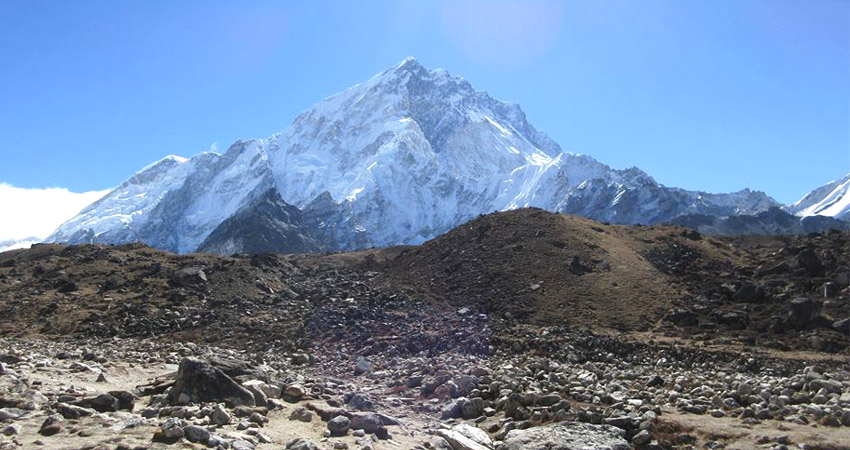 everest base camp weather september, october, november