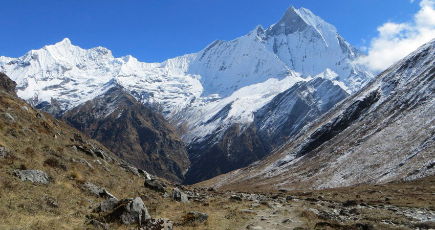Annapurna base camp weather