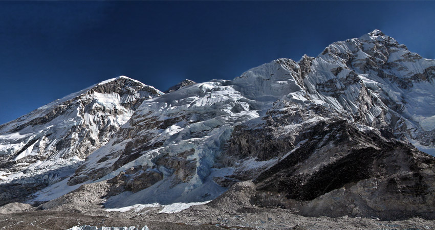 everest base camp trek height