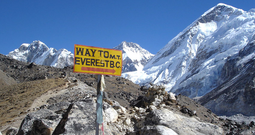 Everest base camp height, Mount Everest trek difficulty and problems