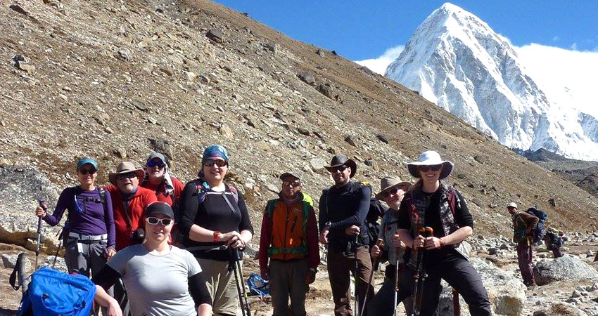 Nepal group trek