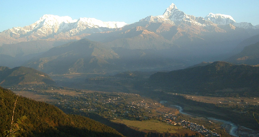 Hiking in Pokhara