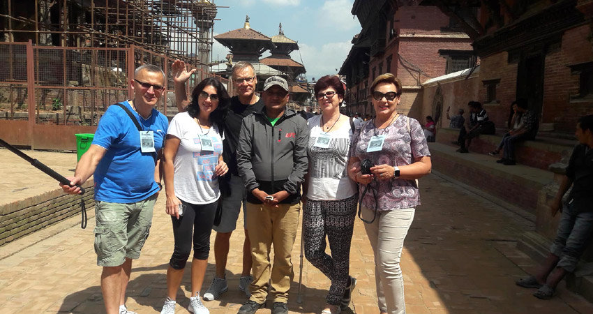 Nepal tour guide