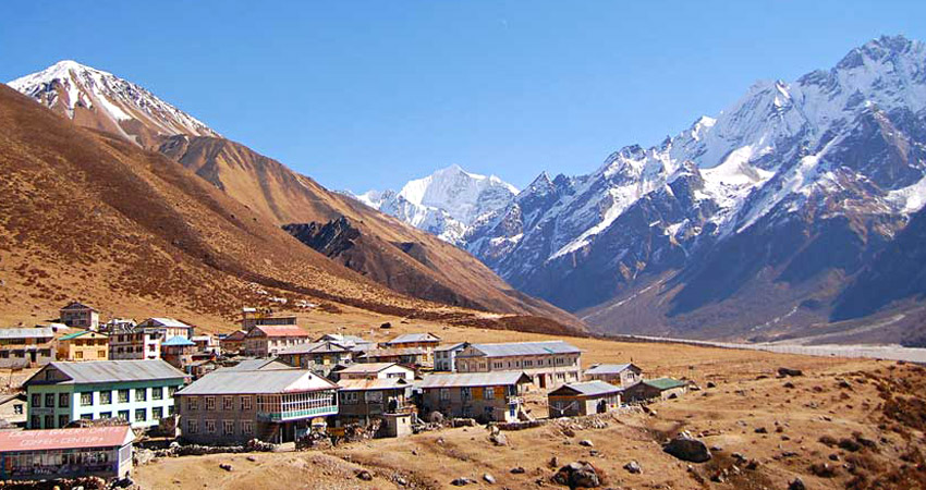 Langtang trek in December