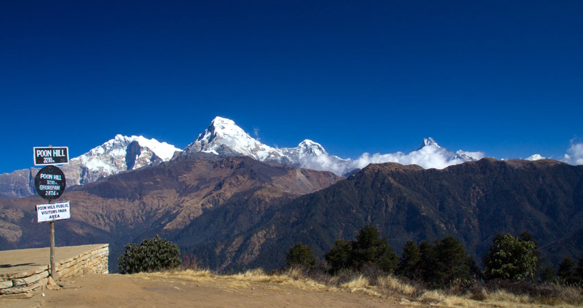 Poon hill elevation, altitude and weather guide