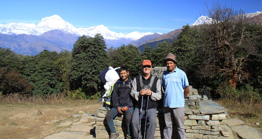 Annapurna base camp trek via poon hill